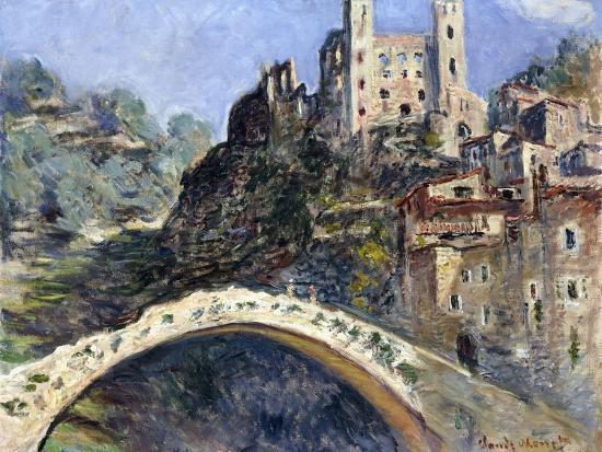 Dolceacqua, 1884-Claude Monet-Giclee Print