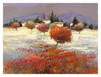 Dolci colline-Luigi Florio-Art Print