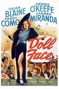 Doll Face, Carmen Miranda, Perry Como, Vivian Blaine, Dennis O'Keefe, Martha Stewart, 1946