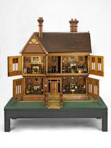 Doll's House, Queen Mary's Dolls' House, Liverpool, c.1887