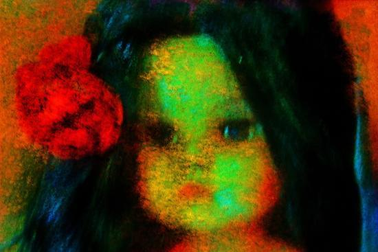 Doll--Photographic Print