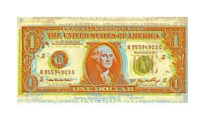 Dollar Bill-Dustin Chambers-Giclee Print