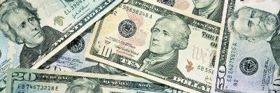 Dollar Bills--Photographic Print