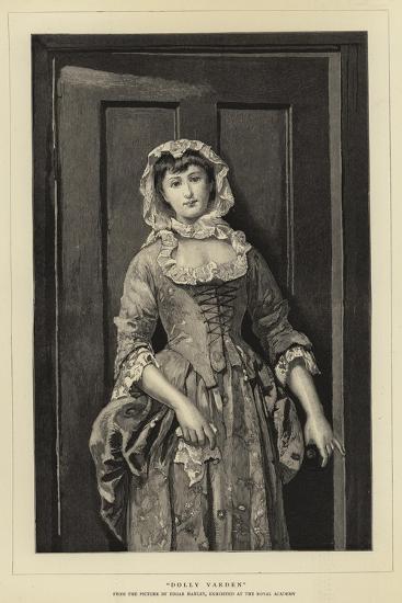 Dolly Varden--Giclee Print