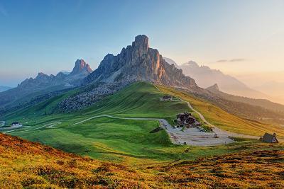 Dolomites Landscape-TTstudio-Photographic Print