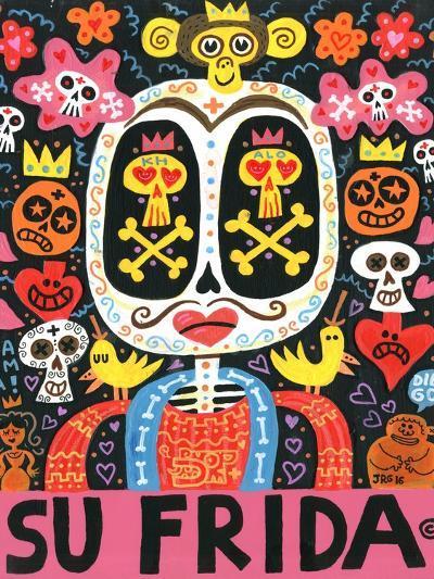 Dolor Feliz Gracias-Jorge R^ Gutierrez-Art Print