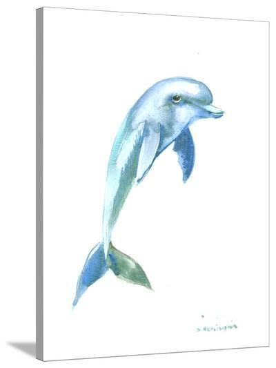 Dolphin-Suren Nersisyan-Stretched Canvas Print