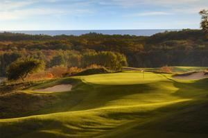 Crystal Downs Country Club, atop a hill by Dom Furore