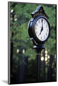 Pinehurst Clock by Dom Furore