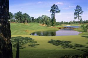 Pinehurst Golf Course No. 4, Hole 4 by Dom Furore