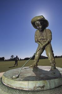 Pinehurst Putter Boy II by Dom Furore