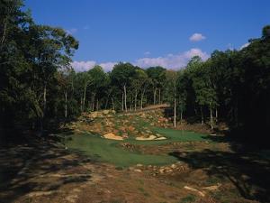 Tot Hill Farm Golf Club, Hole 6 by Dom Furore