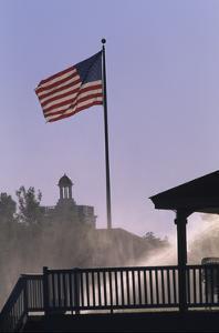 U.S. flag at Pinehurst by Dom Furore