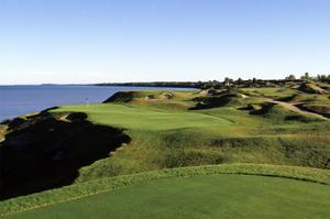 Whistling Straits Golf Club Irish Course, Hole 12 by Dom Furore