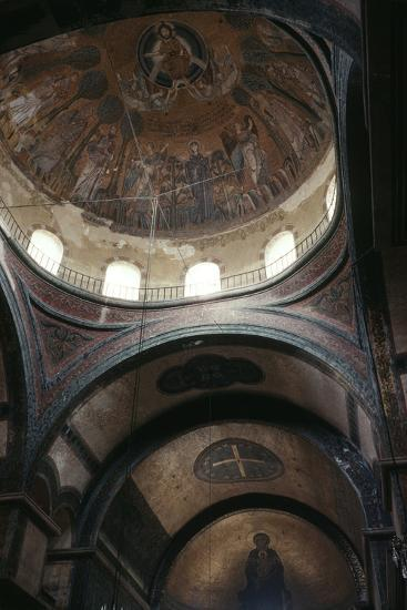 Dome and Apse, Church of Hagia Sophia--Photographic Print