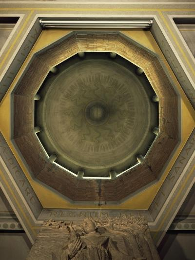 Dome Interior, Church of Saint Ambrose in Cremona, Italy--Giclee Print
