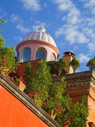 Dome of A Church, San Miguel De Allende, Guanajuato State, Mexico-Julie Eggers-Photographic Print