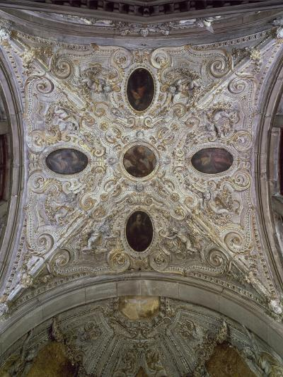 Dome of Chapel of Peace, Basilica Di San Giovanni E Paolo--Giclee Print
