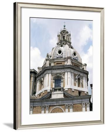 Dome of Church of St Mary of Loreto, Designed by Antonio Da Sangallo Younger--Framed Giclee Print