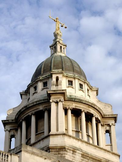 Dome of Old Bailey-Eric Nathan-Photographic Print
