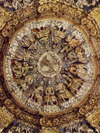 Dome of Pentecost, 1723, Church of Ocotlan, Mexico--Giclee Print