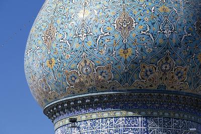 Dome of Shah-E-Cheragh Mausoleum--Giclee Print
