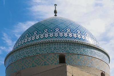 Dome of Shrine of Davazadeh Imam or Maghbareh-Ye Davazdah Emam--Giclee Print