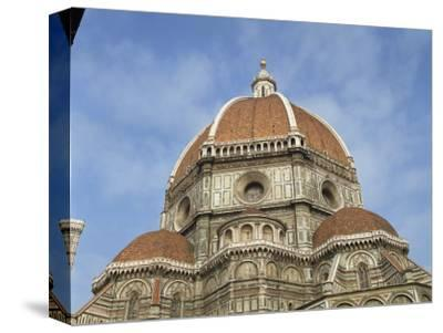 Dome of the Duomo in the Town of Florence, UNESCO World Heritage Site, Tuscany, Italy, Europe-Harding Robert-Stretched Canvas Print