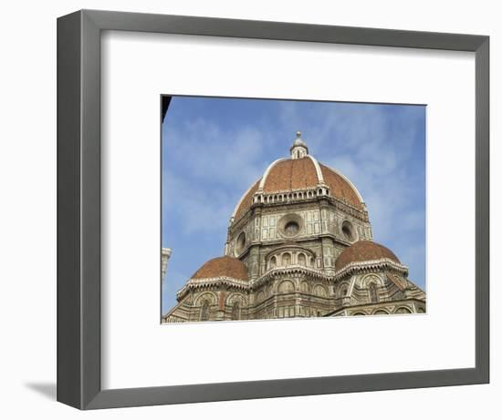 Dome of the Duomo in the Town of Florence, UNESCO World Heritage Site, Tuscany, Italy, Europe-Harding Robert-Framed Photographic Print