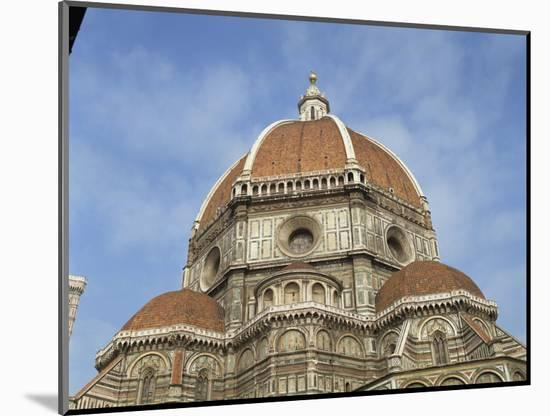 Dome of the Duomo in the Town of Florence, UNESCO World Heritage Site, Tuscany, Italy, Europe-Harding Robert-Mounted Photographic Print