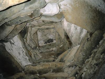 Dome of the Main Chamber, Newgrange Passage Tomb, C.3200 BC--Photographic Print