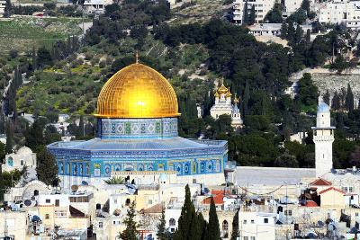 Dome of the Rock in Jerusalem, Israel-SeanPavonePhoto-Photographic Print