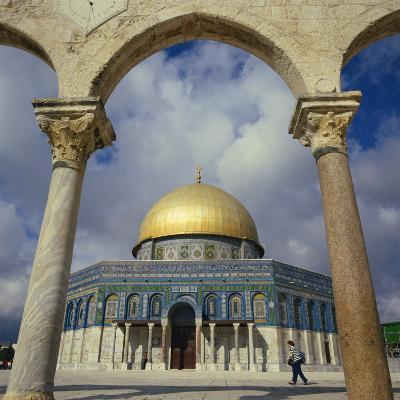 Dome of the Rock, Jerusalem, Israel, Middle East-Robert Harding-Photographic Print