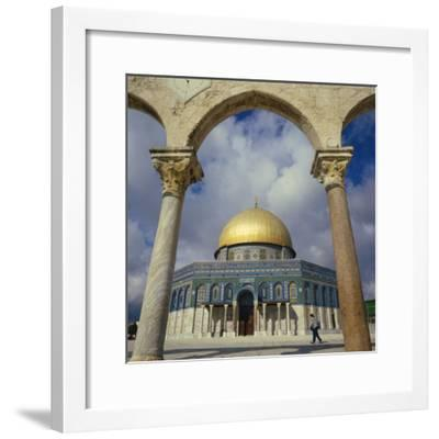 Dome of the Rock, Jerusalem, Israel, Middle East-Robert Harding-Framed Photographic Print