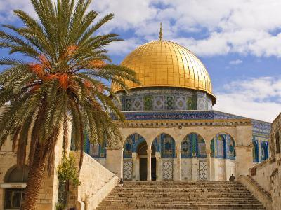 Dome of the Rock, Jerusalem, Israel, Middle East-Michael DeFreitas-Photographic Print