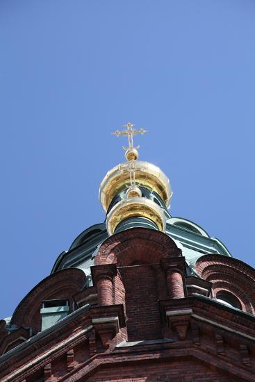 Dome, Uspenski Cathedral, Helsinki, Finland, 2011-Sheldon Marshall-Photographic Print