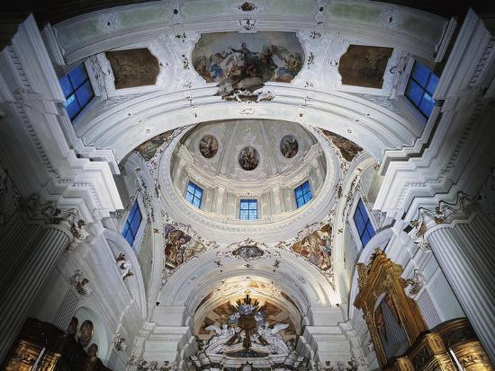 Dome with Frescoes-Giacomo Ceruti-Giclee Print