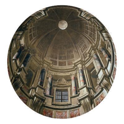 Dome-Andrea Pozzo-Giclee Print