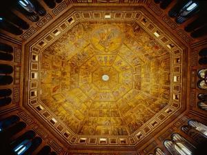 Domed Ceiling of St John's Baptistry, Florence