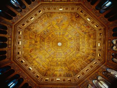 Domed Ceiling of St John's Baptistry, Florence--Giclee Print