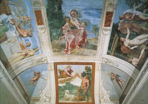 Frescoes by Domenichino