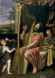 King David by Domenichino