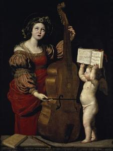 Saint Cecilia by Domenichino