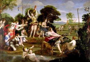 The Hunt of Diana, 1616-17 by Domenichino