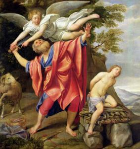 The Sacrifice of Isaac by Domenichino