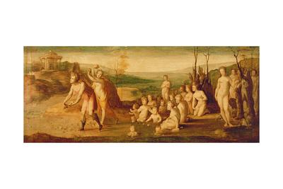 Deucalion and Pyrrha