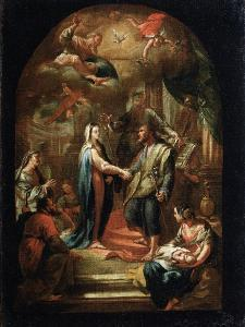 The Marriage of Mary and Joseph, 18th or Early 19th Century by Domenico Corvi