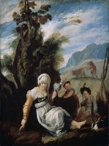 Adam and Eve, 1588 by Domenico Fetti