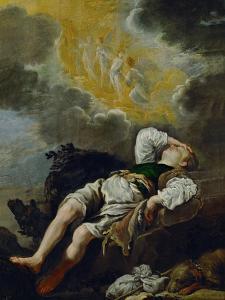 Jacobs dream, around 1620 by Domenico Fetti