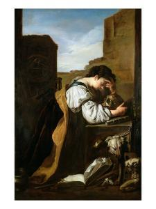 Melancholy by Domenico Fetti or Feti